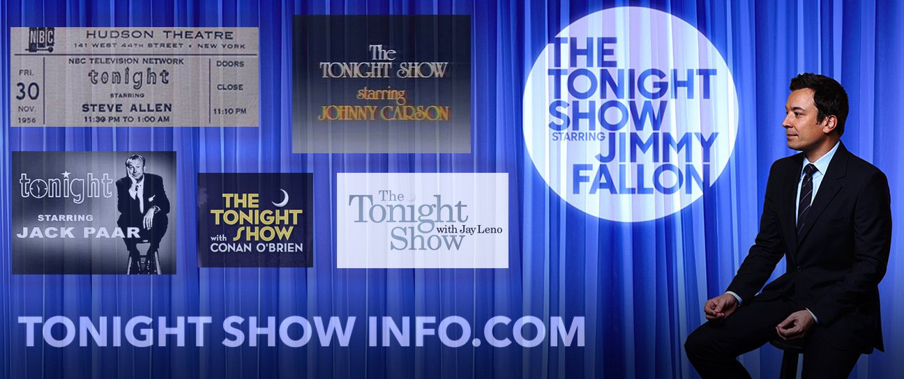 Tonight Show information and Tickets